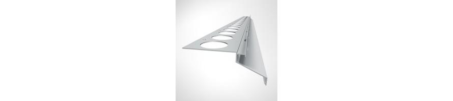 Balkónový profil DRIP PLUS 20 mm