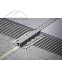 Dilatačný profil kov s vymeniteľnou vložkou 2,5 m