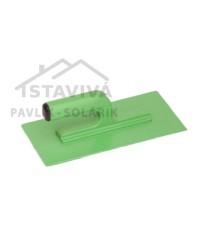 Hladidlo plastové 270x130x3 zelené