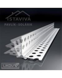 Lišta G-LE flexibilný roh PVC