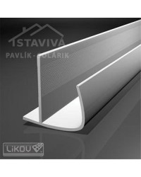 Lišta G-P rohová ochranná oblá PVC 12,5 mm