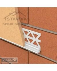 Lišta P-B PVC ukončovacia s okapnicou 2,5 m