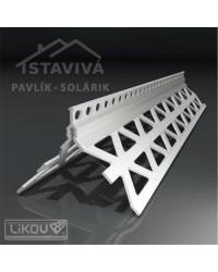 Lišta P-H PVC rohová 2,5 m