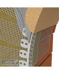 Klenbový roh so sieťkou PVC 2,5 m (LK-KL)