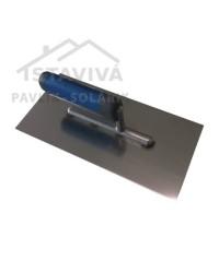 Hladidlo nerezové 270x130 mm PROFI s pogumovanou rúčkou