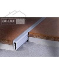 Dilatačný profil PVC šípový 2,5 - 2,7 m