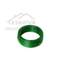 Drôt viazací zelený PVC