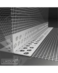 Lišta s mriežkou PVC - flexibilná (LK-BOX)