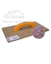 Hladidlo drevené brúsne s papierom ProTec 350 x 200 mm