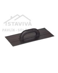 Hladidlo plastové 275x135 mm čierne
