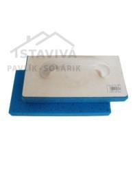 Hladidlo plastové molitan tvrdý 225x135x30 mm