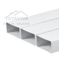 Kanál plochý PVC