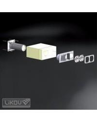 Krabica elektroinštalačná do zateplenia viacnásobná KEZ-3