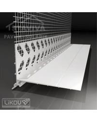 Ukončovací profil soklový - prechodový LW-66-2 2 m