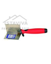 Lyžica štukatérska nerezová kútová 60x60 mm