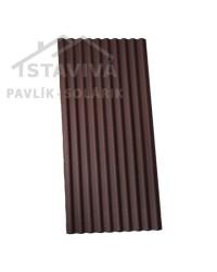ONDULINE Classic bitúmenová krytina hnedá 200x95 cm