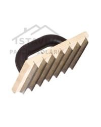 Škrabák na brizolit drevený 140 x 220 mm